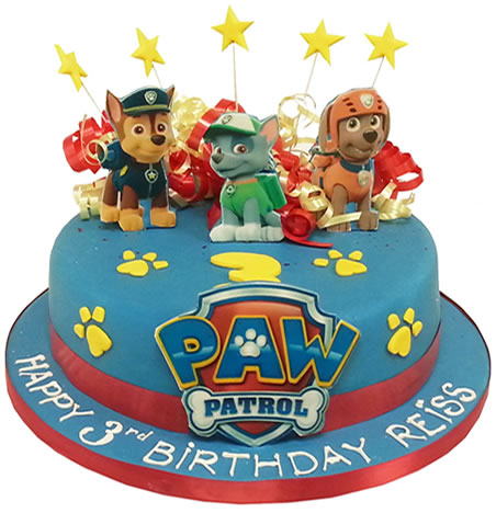 Chocolate Cake But It S Paw Patrol