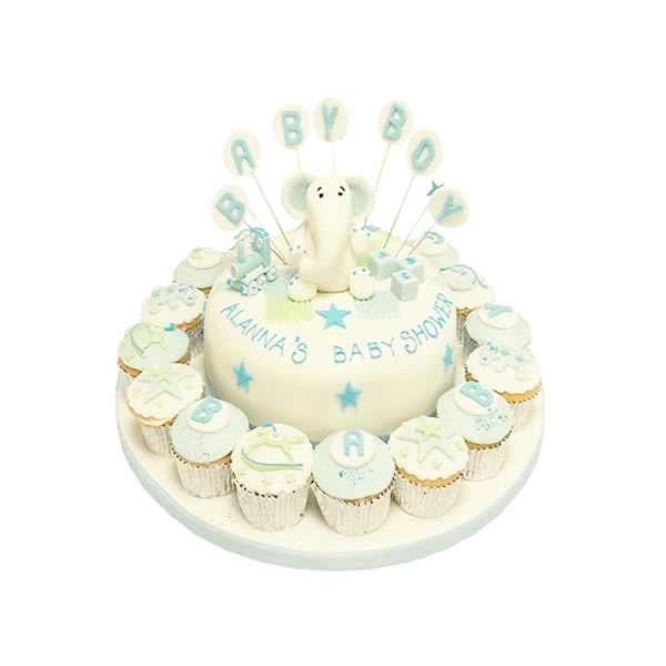 home baby shower cakes baby shower cake cupcakes