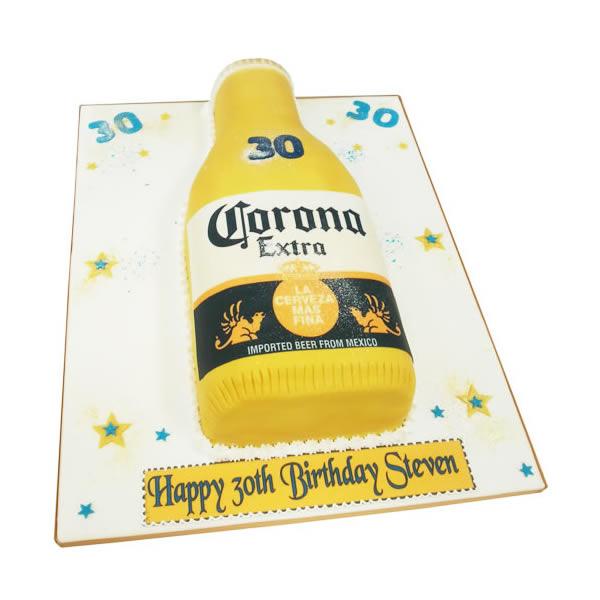 corona cake beer