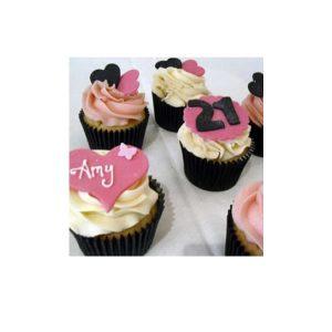 Black Gold Cupcakes