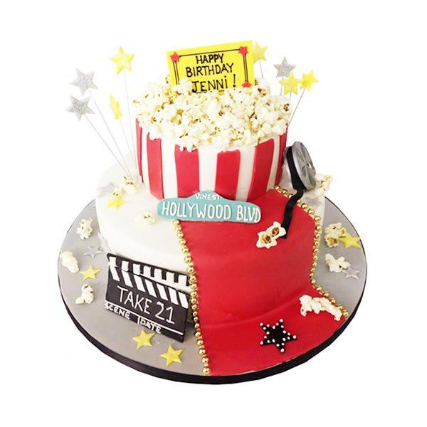 Hollywood Movie Birthday Cake