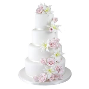Lily Rose Wedding Cake