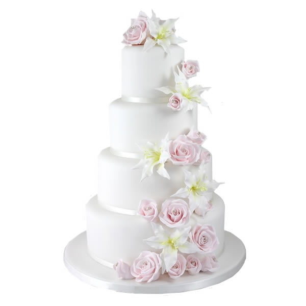 Lily Rose Cake Design : Lily Rose Wedding Cake