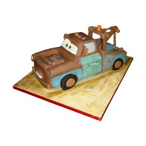 Mater Disney Cars Cake 3D