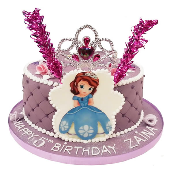 Princess Sofia Birthday Cake Uk Image Inspiration of Cake and