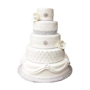 Regal Wedding Cake