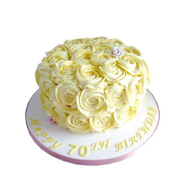 Rose Swirl Cake