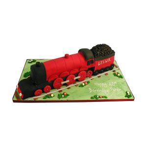 Train Cake 3D