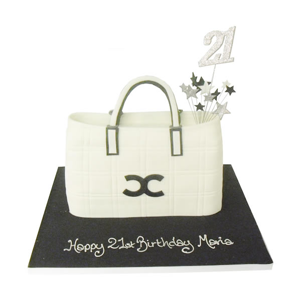 Chanel Bag Birthday Cake