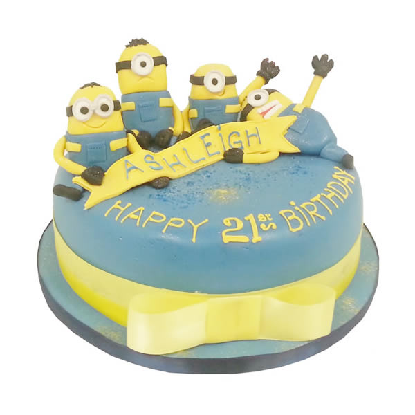 Awe Inspiring Despicable Me Birthday Cake Funny Birthday Cards Online Inifofree Goldxyz