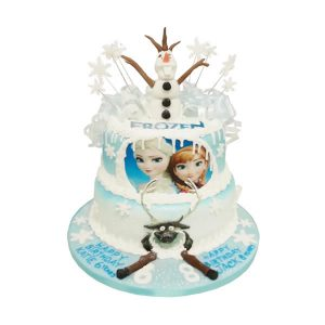 Frozen Tier Birthday Cake