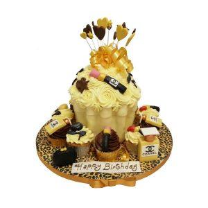 Large Designer Cupcake