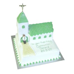 Boy-Communion-Chapel-Cake