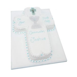 Communion Chalice Cross Cake