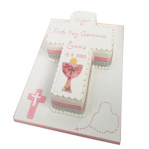 Communion-Cross-Cake
