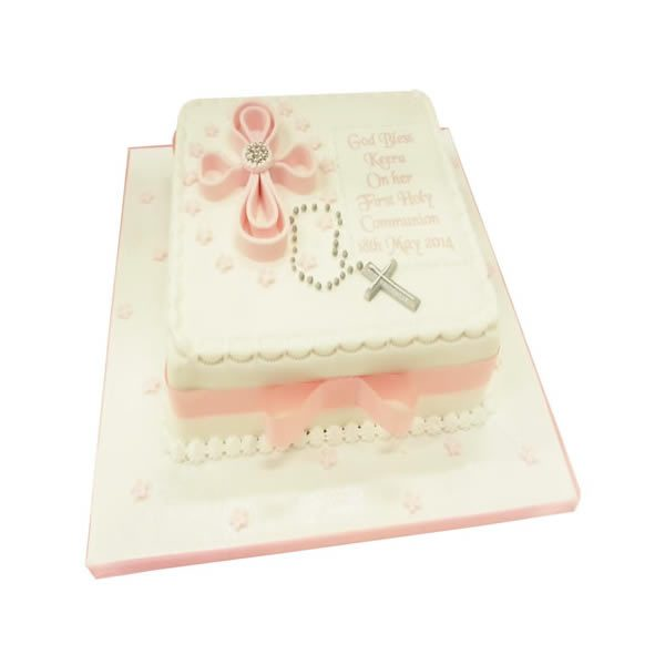 Communion Square Cake