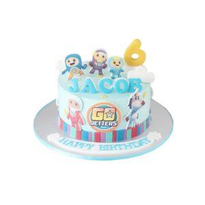 Go Jetters Birthday Cake