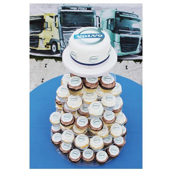Corporate Cupcake Tower