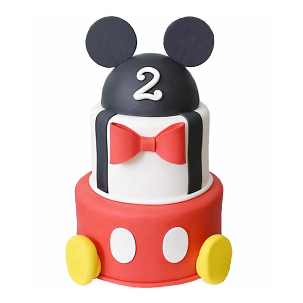 Sensational Mickey Mouse Birthday Cake Funny Birthday Cards Online Fluifree Goldxyz
